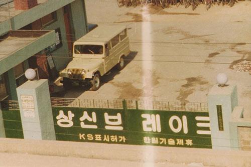 Sangsin Brake History 1975